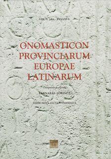 Lőrincz Barnabás - Onomasticon Provinciarum Europae Latinarum [antikvár]