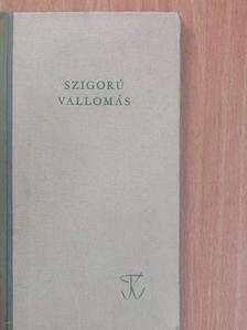 Polner Zoltán - Szigorú vallomás [antikvár]