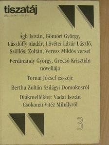 Ágh István - Tiszatáj 2002. március [antikvár]