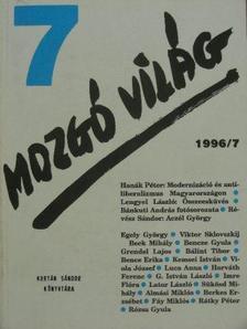 Grendel Lajos - Mozgó Világ 1996. július [antikvár]