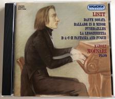 Liszt Ferenc - DANTE SONATA CD PIANO: MOCSÁRI KÁROLY