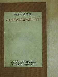 Elek Artúr - Álarcosmenet [antikvár]