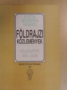 Dr. Karsay Ferenc - Földrajzi Közlemények 1996/1. [antikvár]