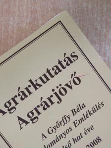 Banczerowszky Januszné - Agrárkutatás - Agrárjövő [antikvár]