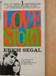 Erich Segal - Love Story [antikvár]