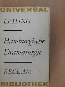 Gotthold Ephraim Lessing - Hamburgische Dramaturgie [antikvár]