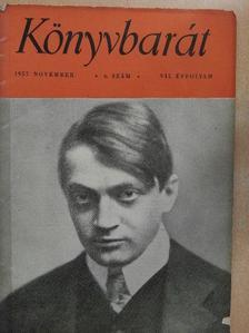 Albert Maltz - Könyvbarát 1957. november [antikvár]