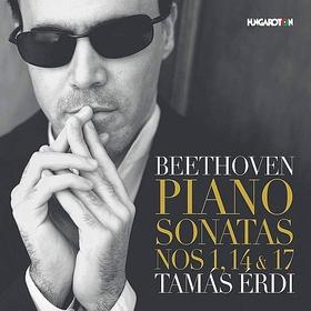 BEETHOVEN - PIANO SONATAS NOS 1,14&17 CD ÉRDI TAMÁS