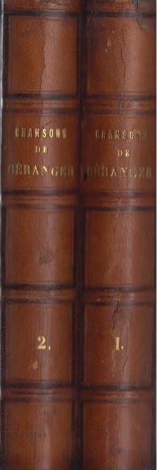 Pierre-Jean de Béranger - Chansons de Beranger [antikvár]