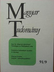 Alpár László - Magyar Tudomány 1991. szeptember [antikvár]