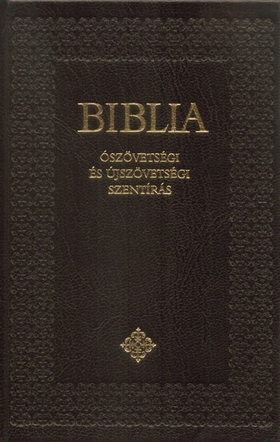 BIBLIA - ÓSZÖVETSÉGI ÉS ÚJSZÖVETSÉGI SZENTIRÁS - KICSI, KÖTÖTT