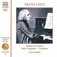 Liszt Ferenc - SONATA IN b MINOR, DEUX LÉGENDES, GRATCHEN CD