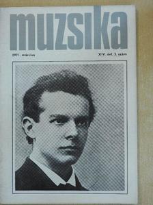Cserhalmi Imre - Muzsika 1971. március [antikvár]