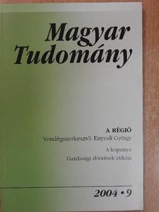 Boros János - Magyar Tudomány 2004. szeptember [antikvár]