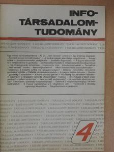 Alpár Ottó - Info-Társadalomtudomány 1988. március [antikvár]