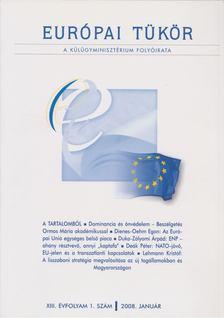 Hovanyecz László - Európai tükör 2008. január [antikvár]