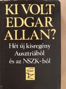 Dieter Kühn - Ki volt Edgar Allan? [antikvár]