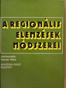Barta Judit - A regionális elemzések módszerei [antikvár]