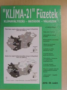 """Birkás Márta - """"Klíma-21"""" Füzetek 2010/59. [antikvár]"""