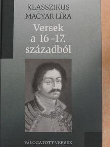 Balassi Bálint - Versek a 16-17. századból [antikvár]