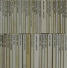 """A. Vajner - """"50 kötet a Fekete Könyvek sorozatból (nem teljes sorozat)"""" [antikvár]"""
