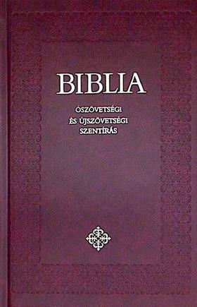 BŐR - BIBLIA - ÓSZÖVETSÉGI ÉS ÚJSZÖVETSÉGI SZENTÍRÁS - KÖZEPES, KÖTÖTT -