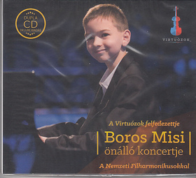 SCARLATTI,BACH,CHOPIN,MOZART - BOROS MISI,2 CD