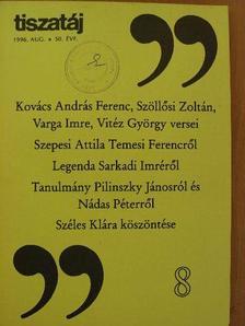 Csűrös Miklós - Tiszatáj 1996. augusztus [antikvár]