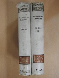Alessandro Manzoni - Prose I-II. [antikvár]