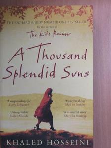 Khaled Hosseini - A Thousand Splendid Suns [antikvár]