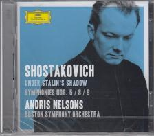 SHOSTAKOVICH - SYMPHONIES NOS. 5 / 8 / 9 CD ANDRIS NELSONS
