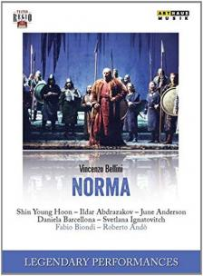 BELLINI - NORMA DVD BIONDI