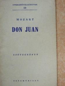 Lorenzo Da Ponte - Mozart: Don Juan [antikvár]