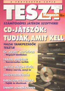 Vince Mátyás - Teszt Magazin 1994. III. Évfolyam 1-12.szám (Teljes!) [antikvár]
