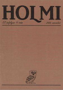 Réz Pál - HOLMI 2000. november [antikvár]