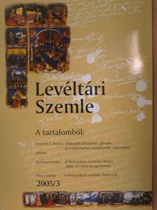 Haraszti Viktor - Levéltári Szemle 2005/3. [antikvár]