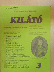 Molnár Károly - Kilátó 1985. augusztus-december [antikvár]