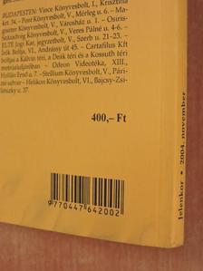 Balázs Imre József - Jelenkor 2004. november [antikvár]