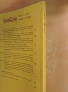 Csontos László - Földtani Közlöny 2006/3. [antikvár]