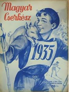 Csanády Sándor - Magyar Cserkész 1935. január 1. [antikvár]