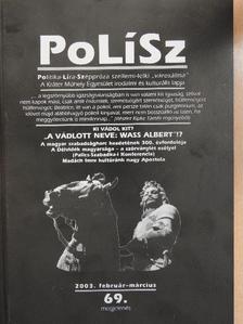 Adamik Tamás - PoLíSz 2003. február-március [antikvár]