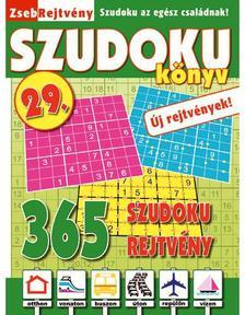 CSOSCH KIADÓ - ZsebRejtvény SZUDOKU Könyv 29.