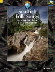TRAD.ARR. PH. LAWSON - SCOTTISH FOLK SONGS FOR VOICE AN PIANO 1 OR 2 VOCAL PARTS. 30 TRAD. PIECES PH. LAWSON