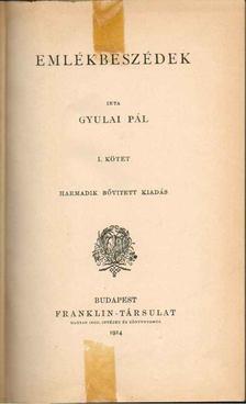 Gyulai Pál - Emlékbeszédek I-II. [antikvár]