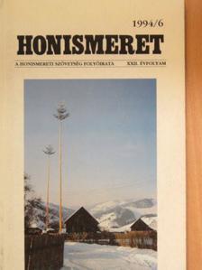 Beke György - Honismeret 1994/6. [antikvár]