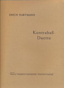 HARTMANN, ERICH - KONTRABASS-DUETTE