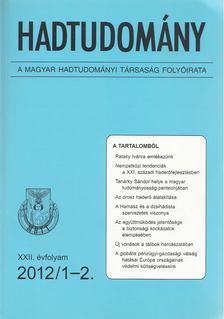 Nagy László - Hadtudomány XXII. évfolyam 2012/1-2. [antikvár]