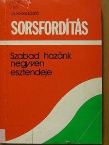 Dr. Fodor László - Sorsfordítás [antikvár]