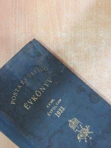 Albrecht Gusztáv - Posta- és táviró évkönyv 1933. [antikvár]