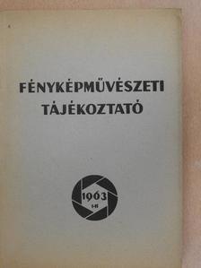 Bauer György - Fényképművészeti tájékoztató 1963. I-II. [antikvár]